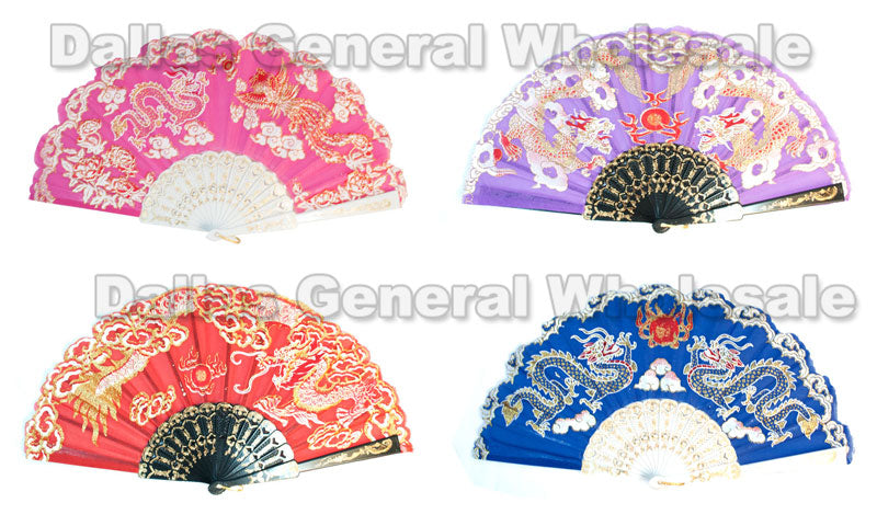 Oriental Asian Hand Folding Fans Wholesale - Dallas General Wholesale