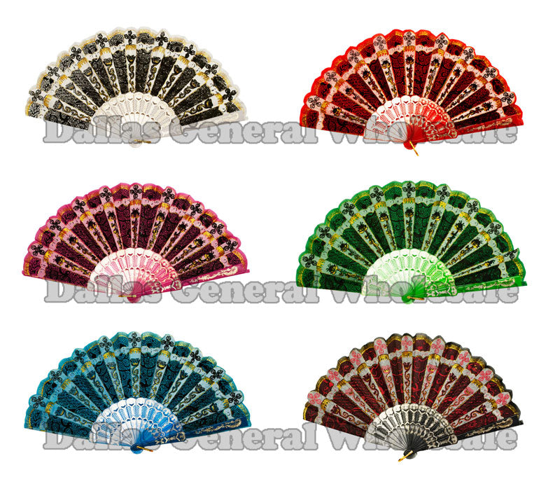 Summer Oriental Hand Fans Wholesale - Dallas General Wholesale