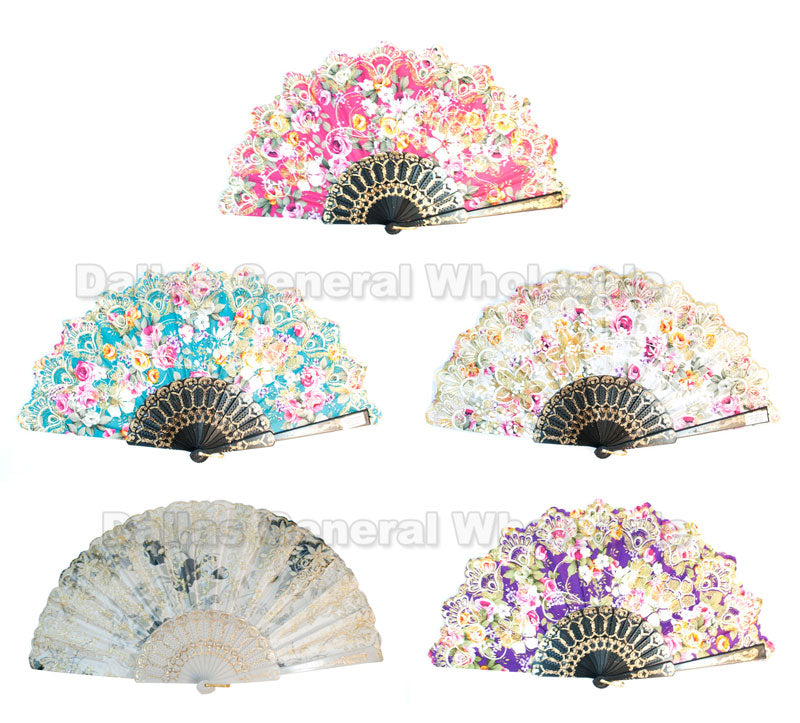 Novelty Folding Hand Fans Wholesale - Dallas General Wholesale