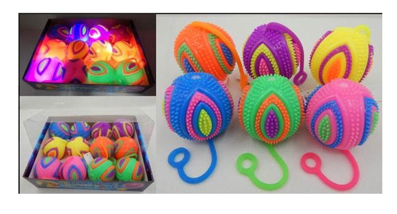 Glowing Squeezable Squeaky Yoyo Balls Wholesale - Dallas General Wholesale