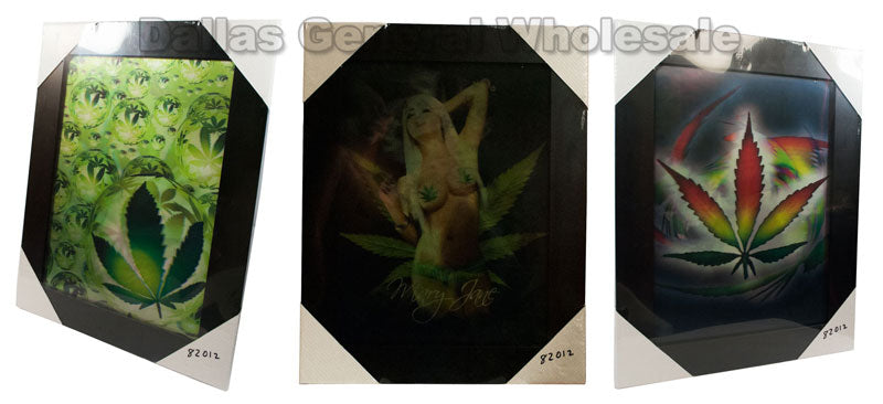 Marijuana Bikini Girl 3D Picture Frames Wholesale - Dallas General Wholesale