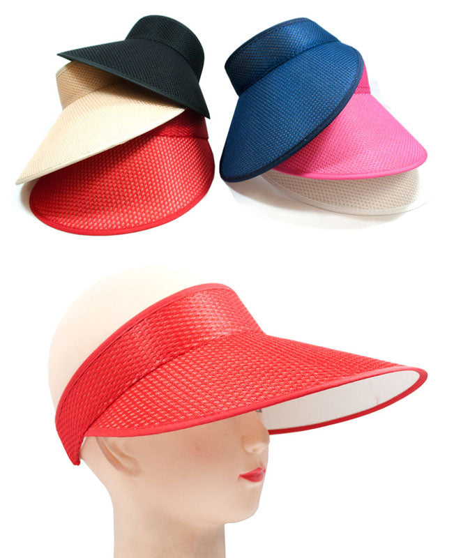 Ladies Casual Visor Caps Wholesale - Dallas General Wholesale