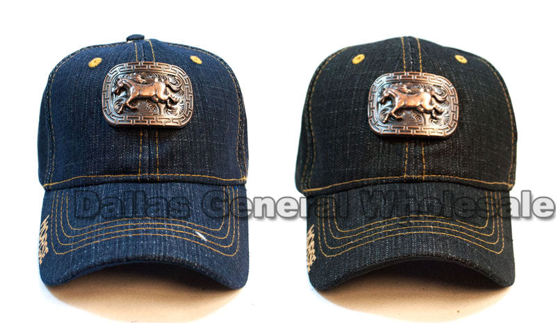 Brass Horse Design Casual Caps Wholesale - Dallas General Wholesale
