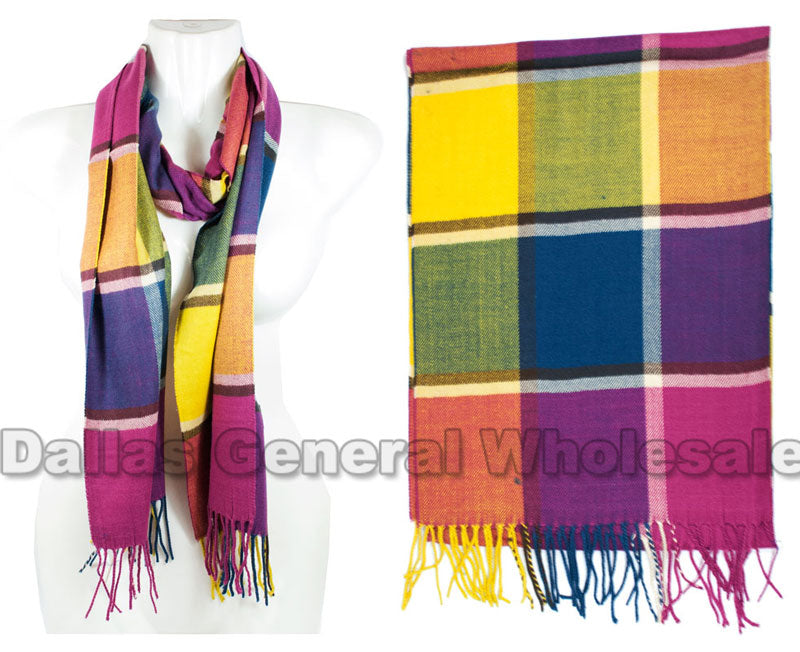 Rainbow Color Fashion Scarf Wholesale - Dallas General Wholesale