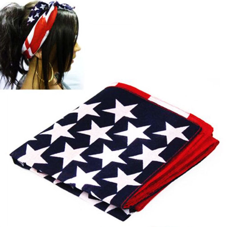 US Flag Fashion Bandanas Wholesale - Dallas General Wholesale