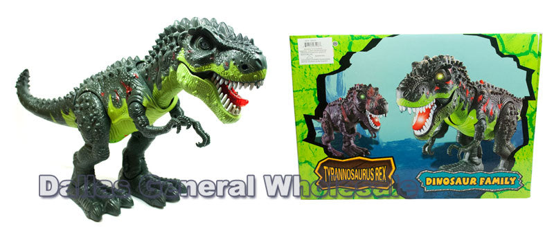 Battery Operated T-Rex Dinosaur Toy Wholesale - Dallas General Wholesale