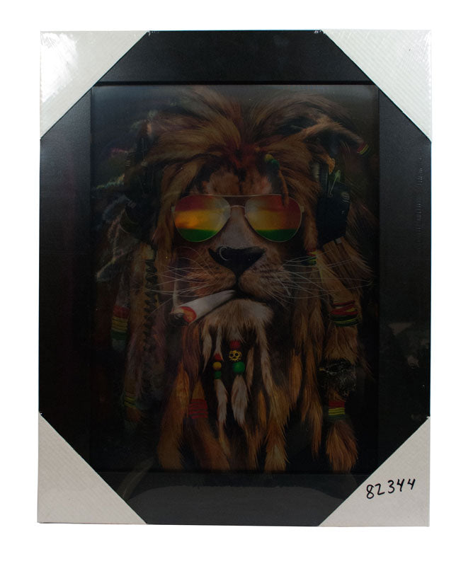 3D Picture Frame of Bob Marley Like Lions Wholesale - Dallas General Wholesale