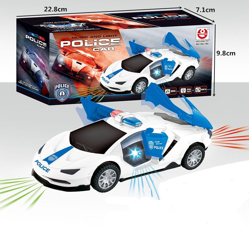 Electronic Spinning Police Cars Wholesale - Dallas General Wholesale