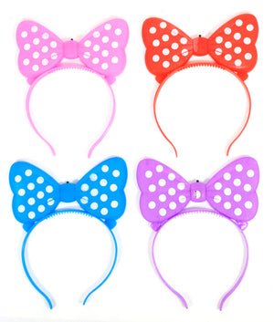 Glowing Bow Tie Hair Clip Wholesale - Dallas General Wholesale