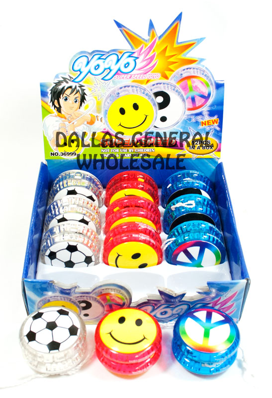 Flashing Light Up YoYo Balls Wholesale - Dallas General Wholesale