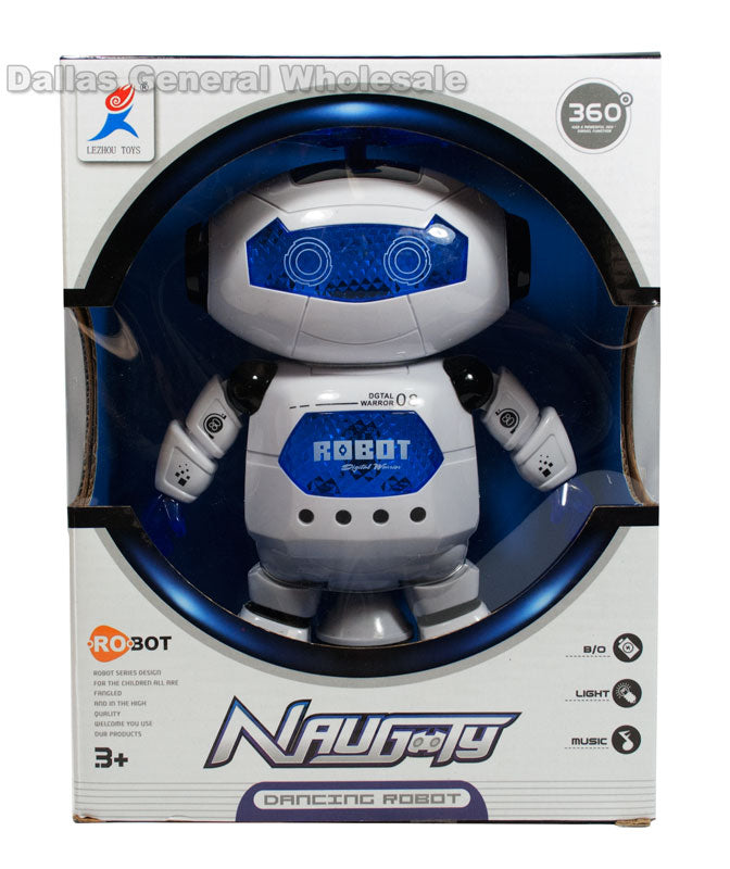 B/O Toy Dancing Robots Wholesale - Dallas General Wholesale