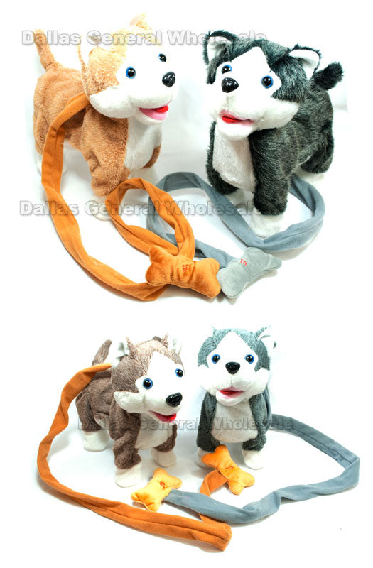 Big Toy B/O Husky Dogs Wholesale - Dallas General Wholesale