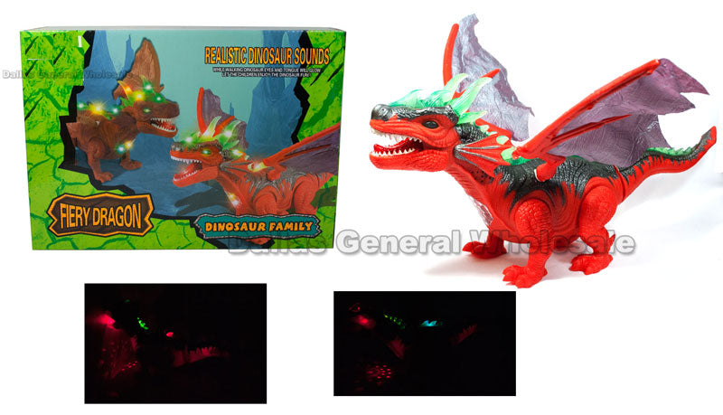 B/O Toy Walking Roaring Dragons Wholesale - Dallas General Wholesale