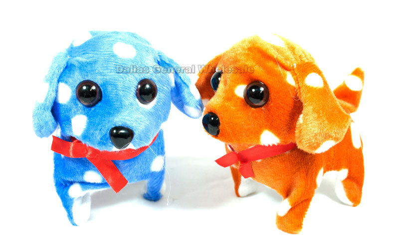 Polka Dot Toy Walking Puppy Dogs Wholesale - Dallas General Wholesale
