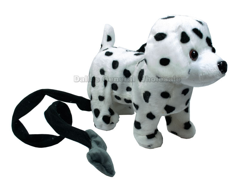 Leash Dalmatian Toy Dogs Wholesale - Dallas General Wholesale