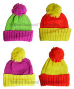 Pre-Teens Neon Color Beanies Hats Wholesale - Dallas General Wholesale