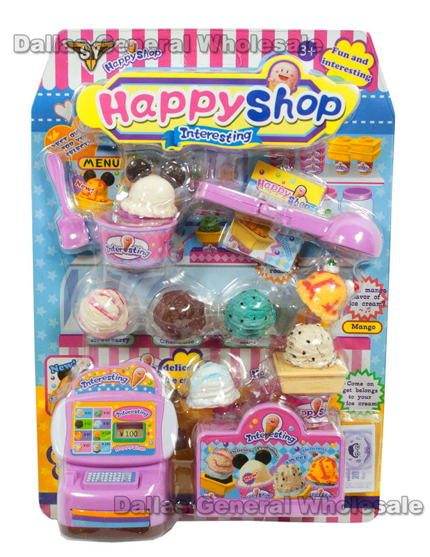 Ice Creams Shop Play Set Wholesale - Dallas General Wholesale