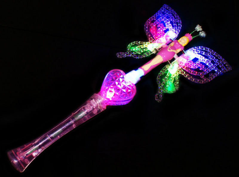 Glowing Light Up Butterfly Wand Wholesale - Dallas General Wholesale