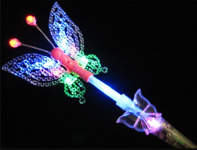 Girls Glowing Light Up Butterfly Wand Wholesale - Dallas General Wholesale