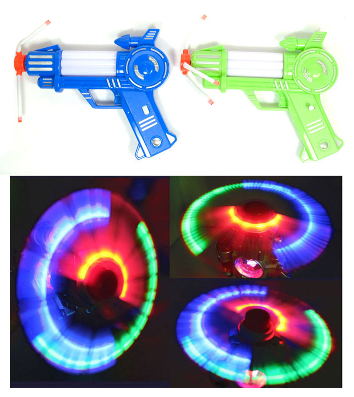 Windmill Like Flashing Light Up Guns with Sounds Wholesale - Dallas General Wholesale
