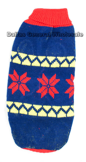 Knitted Winter Pet Puppy Clothes Wholesale - Dallas General Wholesale