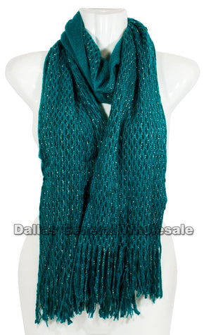 Fashion Knitted 2-in-1 Infinity Circle Scarf Wholesale - Dallas General Wholesale