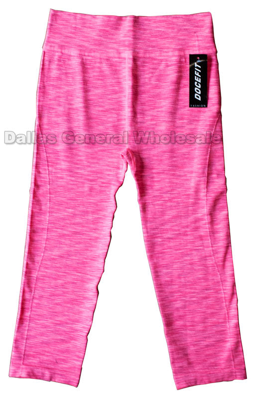 Mid Calf Active Capris Wholesale - Dallas General Wholesale