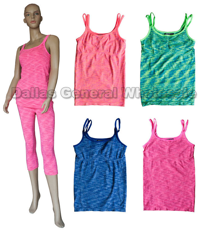 Active Spaghetti Strap Tops Wholesale - Dallas General Wholesale