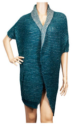 Ladies Lamb Fur Poncho / Open Cardigan Wholesale - Dallas General Wholesale