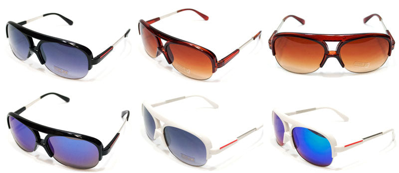 Adults Sunshades with Mirror Lenses Wholesale - Dallas General Wholesale