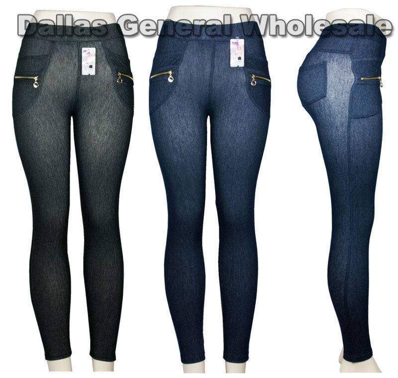 Girls Pull On Jeggings Wholesale - Dallas General Wholesale