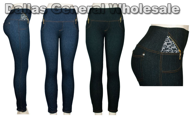 Ladies Fashion Jeggings Wholesale - Dallas General Wholesale