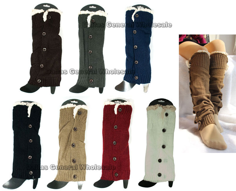 Girls Cute Lace Leg Warmers Wholesale - Dallas General Wholesale