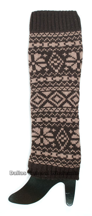 Girls Knitted Leg Thigh Warmers Wholesale - Dallas General Wholesale