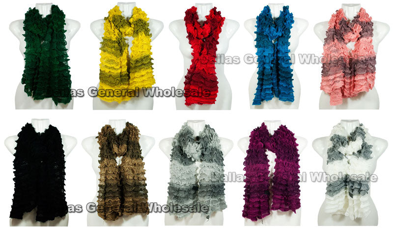 Girls 2-in-1 Multi-Wear Infinity Circle Scarves Wholesale - Dallas General Wholesale