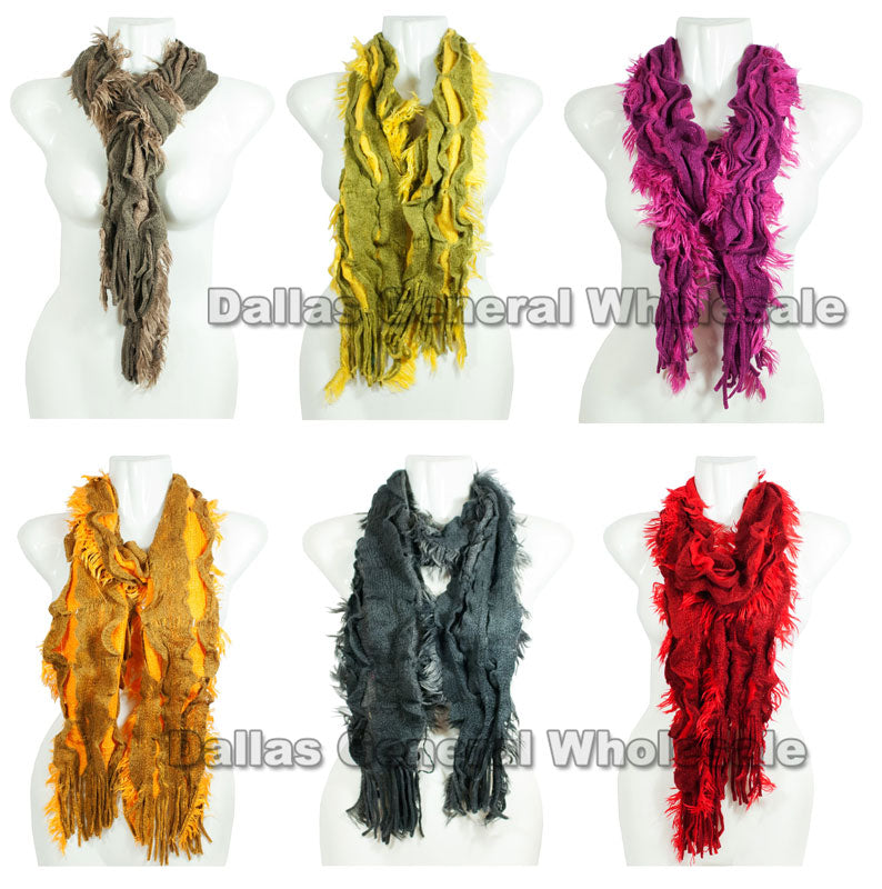 Ladies Winter Fashion Scarf Wholesale - Dallas General Wholesale