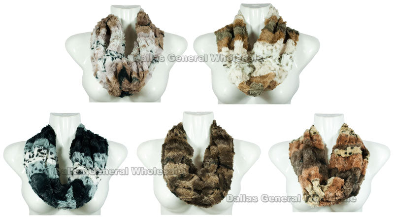 Fur Infinity Circle Scarf Wholesale - Dallas General Wholesale