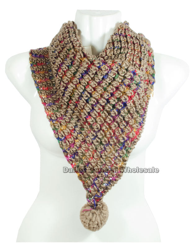 Fashion Knitted Infinity Circle Scarf Wholesale - Dallas General Wholesale