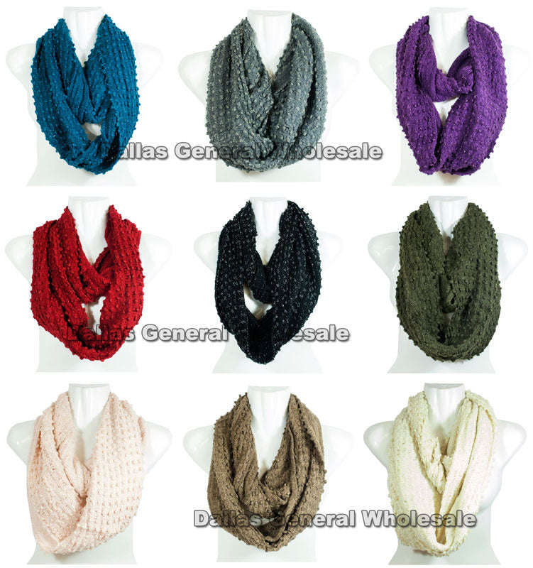 Women's Cute Winter Infinity Circle Scarf Wholesale - Dallas General Wholesale