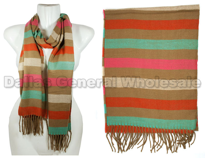 Ladies Cashmere Feel Scarf Wholesale - Dallas General Wholesale