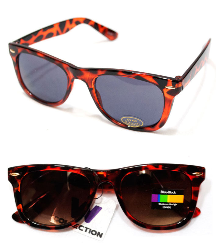 Ladies Fashion Printed Plastic Frame Sunglasses Wholesale - Dallas General Wholesale