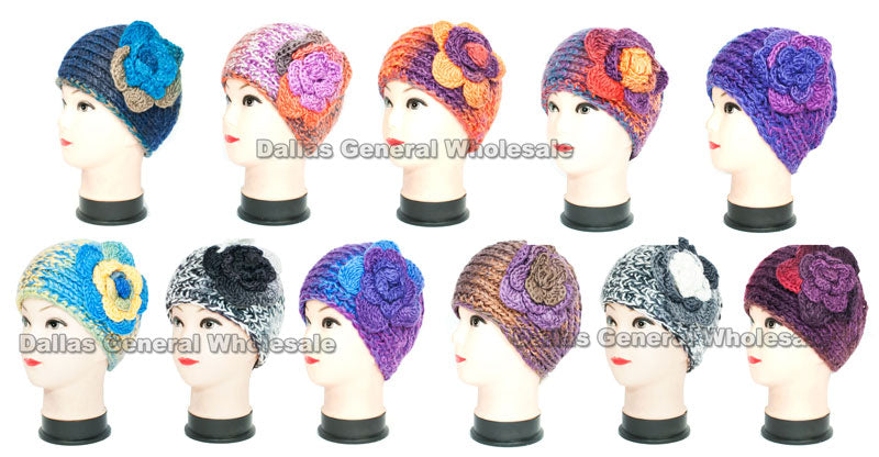 Extra Wide Winter Fashion Headbands Wholesale - Dallas General Wholesale
