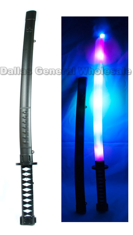Glowing Light Up Toy Ninja Swords Wholesale - Dallas General Wholesale