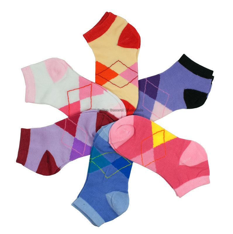 Little Girls Ankle Socks Wholesale - Dallas General Wholesale