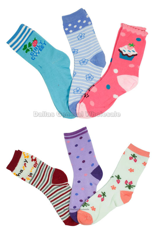 Little Girls Tube Socks Wholesale - Dallas General Wholesale