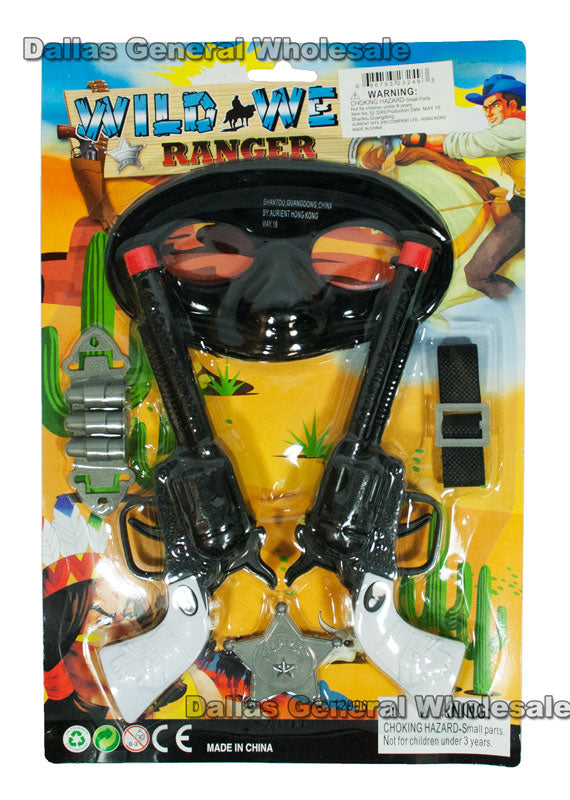 Wild West Ranger Pretend Play Sets Wholesale - Dallas General Wholesale