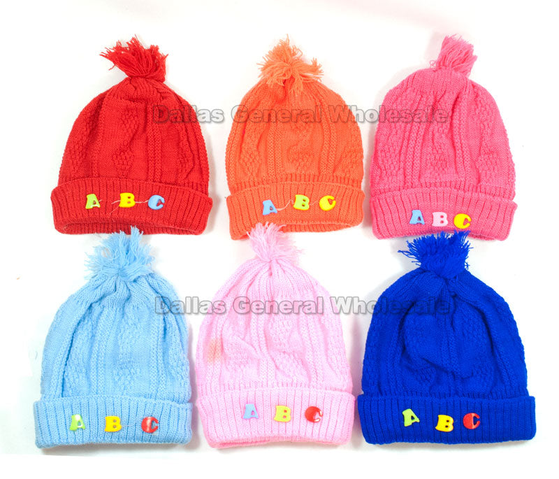 Baby Knitted Beanies Hats Wholesale - Dallas General Wholesale