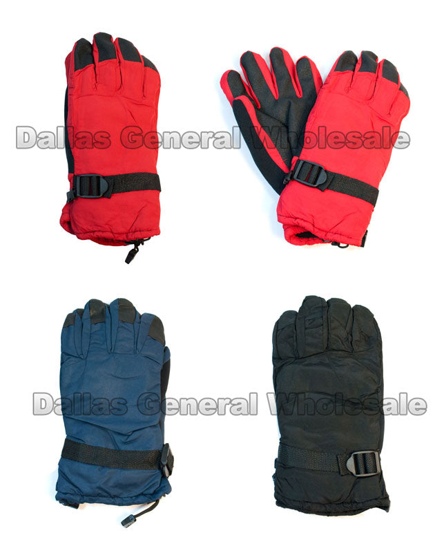 Men Heavy Insulated Water Proof Gloves Wholesale - Dallas General Wholesale