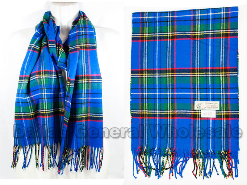Adults Cashmere Feel Scarf Wholesale - Dallas General Wholesale