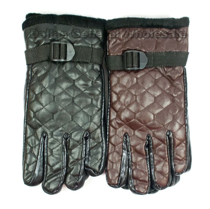 Men's Leather Insulated Gloves Wholesale - Dallas General Wholesale